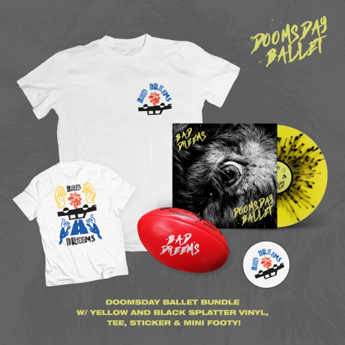 Doomsday Ballet LP Splatter Vinyl Bundle by Bad Dreems