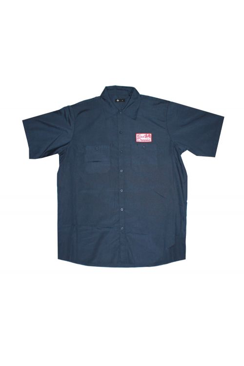 Navy Mechanics Shirt  by Bad Dreems