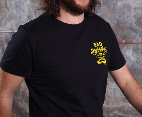 Nuke Black Tshirt by Bad Dreems