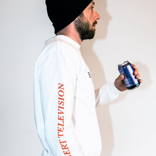 Animal White Longsleeve Tshirt