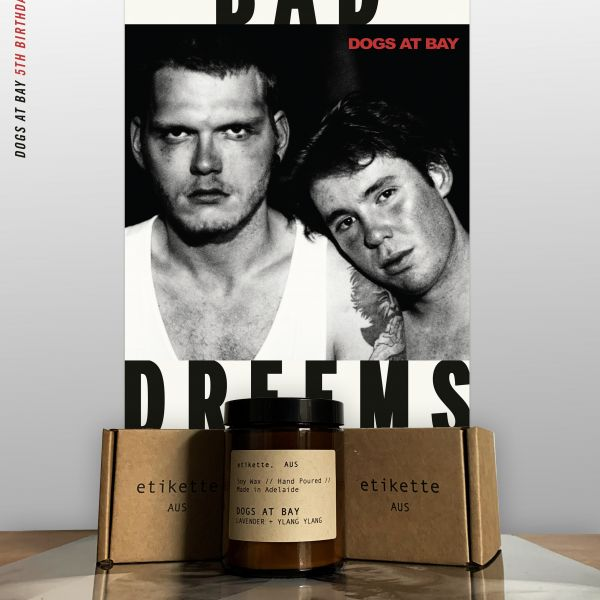 5th Birthday Bundle Pack (Dogs at Bay Blue Vinyl/Candles/Poster)